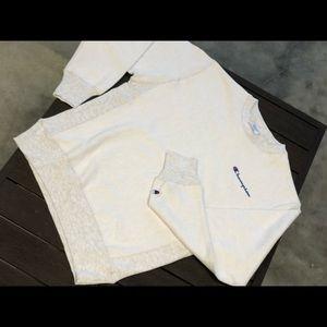 Champion Reverse Weave Grey Crewneck Sweatshirt